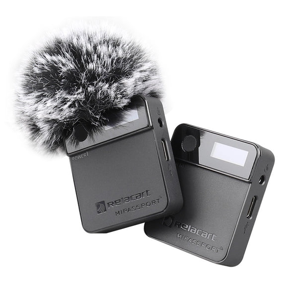 RELACART MiPassport Digital Wireless Microphone System