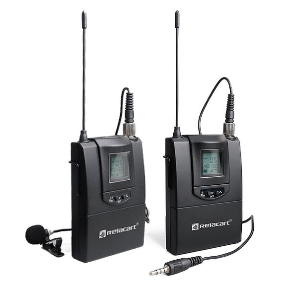 RELACART CR1 Single Channel Wireless Microphone System