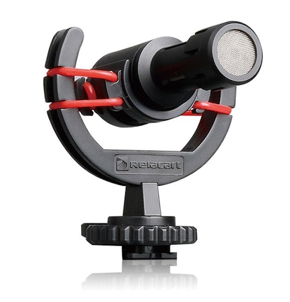 RELACART MU1 Ultra-Compact Camera-Mount Shotgun Microphone