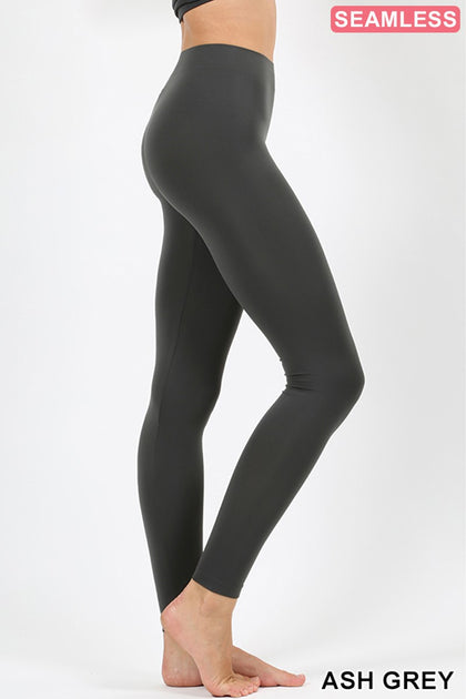 Color Me Ash Grey Leggings