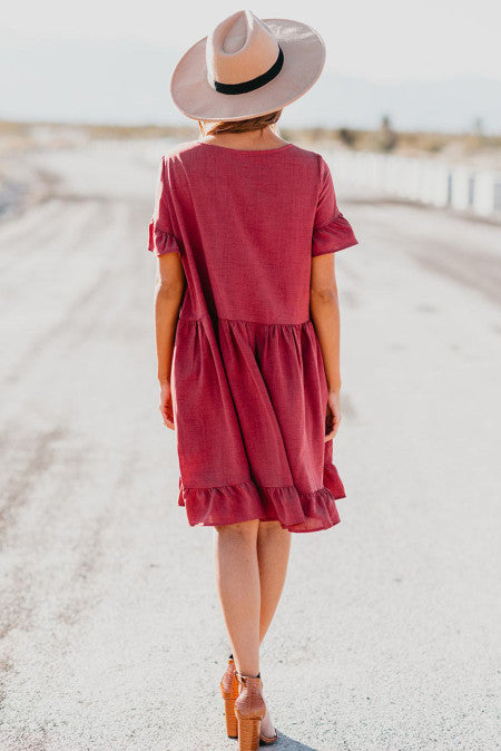 A Love Connection Red Dress