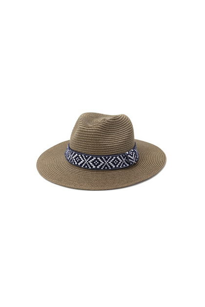 Beach Please Tan Panama Hat