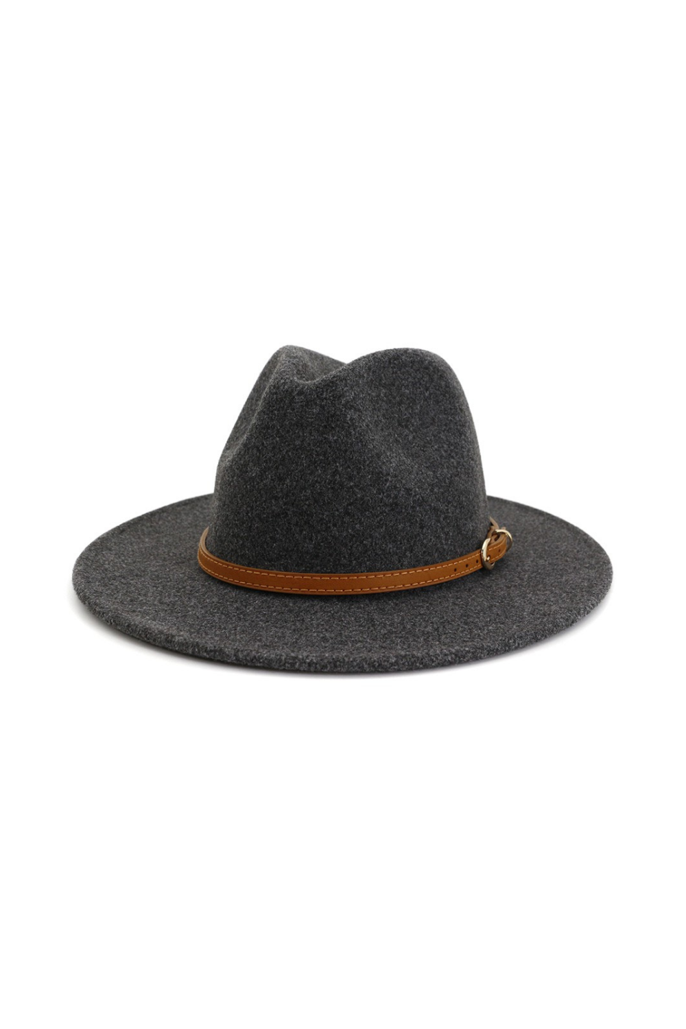 Rebel Without a Cause Dark Grey Panama Hat