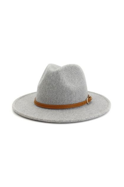 Rebel Without a Cause Light Grey Panama Hat