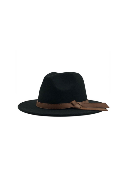True Destiny Black Panama Hat