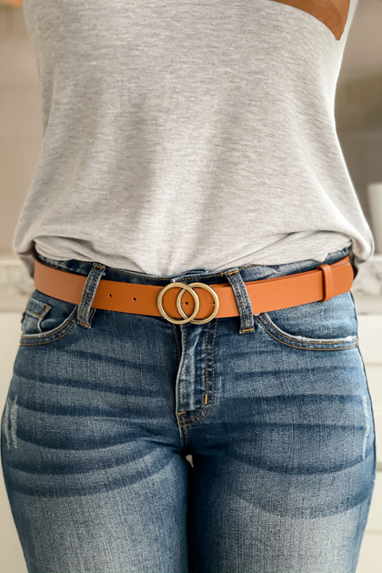 Sunset Malibu Tan Belt