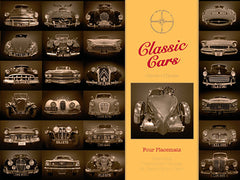 Classic Cars Placemats
