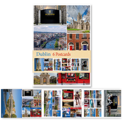 Dublin - Pack of 6 Postcards