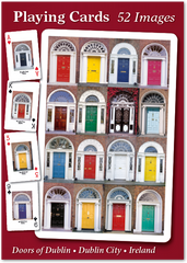 Doors of Dublin Playing Cards - 52 images