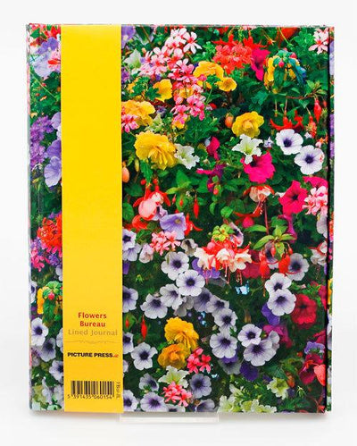Flowers Bureau Lined Writing Journal