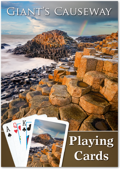 Giant's Causeway Playing Cards - Single Image