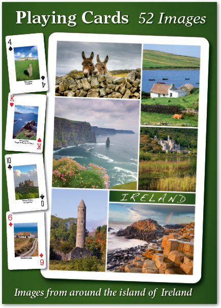 Ireland Playing Cards - 52 images