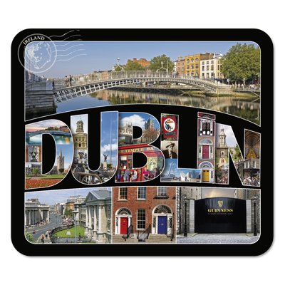 Dublin in Text Coaster