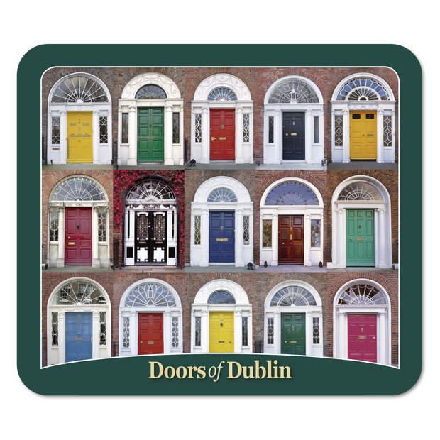 Doors of Dublin Coaster