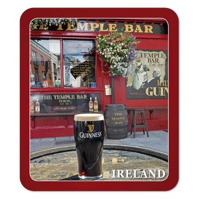 Temple Bar Pint Coaster
