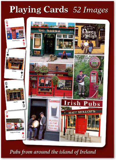 Irish Pubs Playing Cards - 52 images
