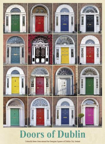 Doors of Dublin Pin-Up
