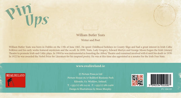 W.B.Yeats Pin-Up