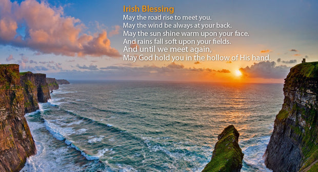 Irish Blessing Pin-Up