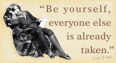 Oscar Wilde Pin-Up