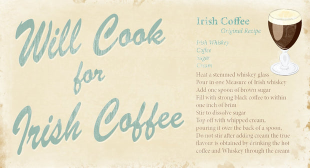 Irish Coffee Pin-Up