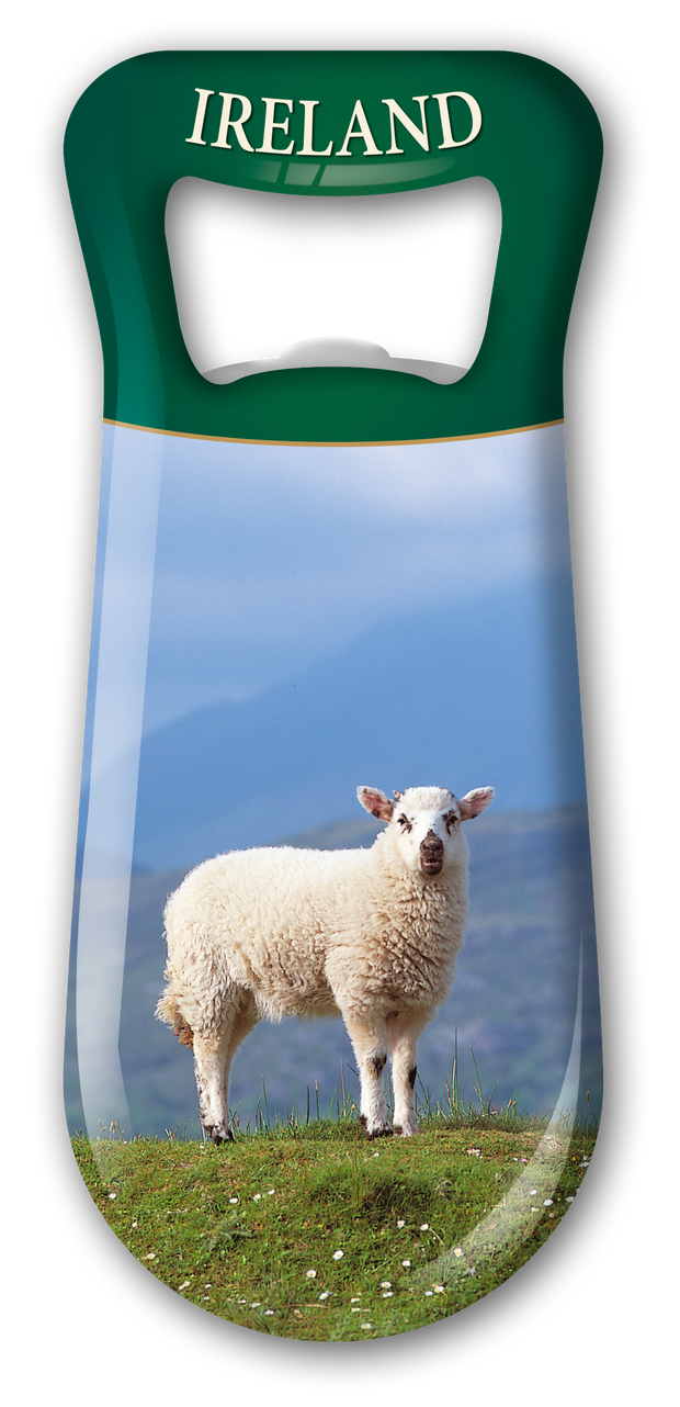 Lonely Lamb Bottle Opener - Fridge Magnet