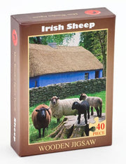 Irish Sheep Mini Wooden Jigsaw