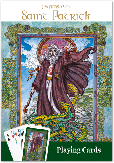 Saint Patrick Playing Cards - Single Image