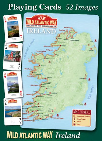 Wild Atlantic Way Playing Cards - 52 images