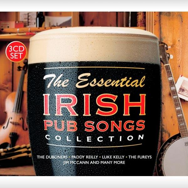 The Essential Irish Pub Songs Collection 3CD Set