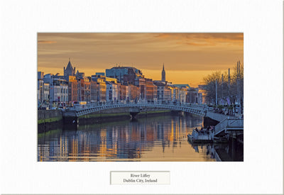 River Liffey - Visions of Ireland
