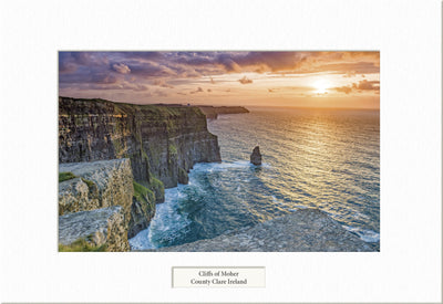Sunset at the Cliffs of Moher  - Visions of Ireland