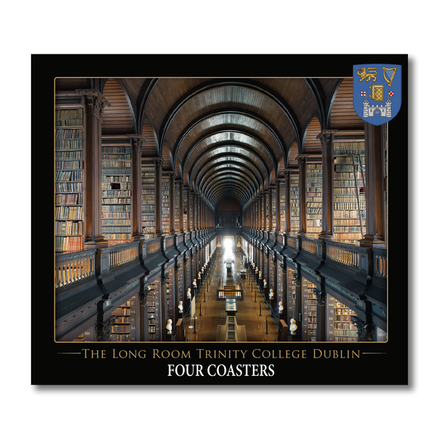 Trinity College Long Room Coasters