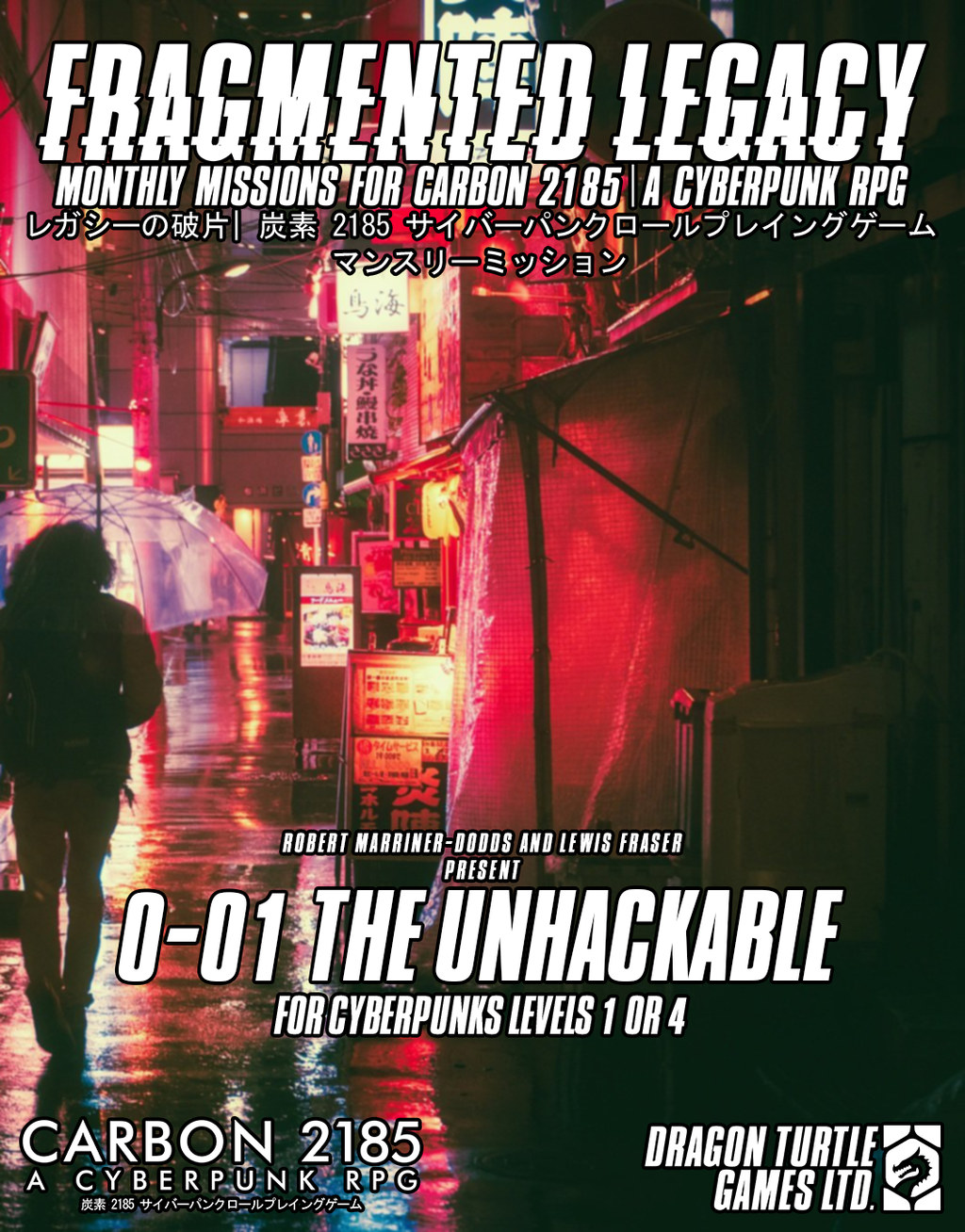Fragmented Legacy 0-01 The Unhackable PDF