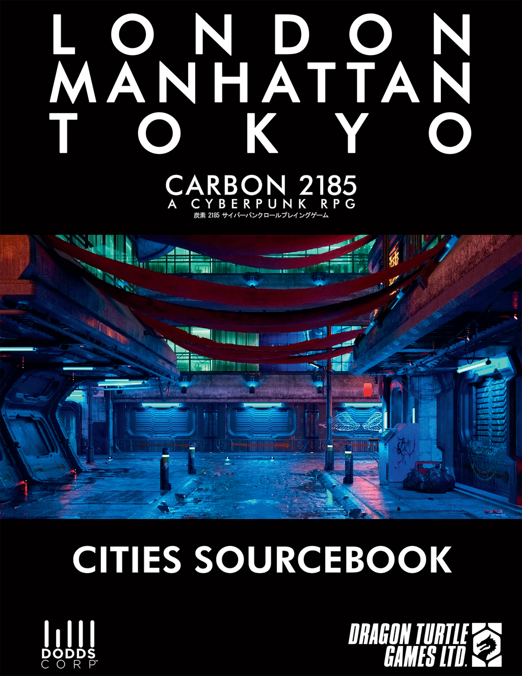 Cities Sourcebook PDF | Carbon 2185 A Cyberpunk RPG