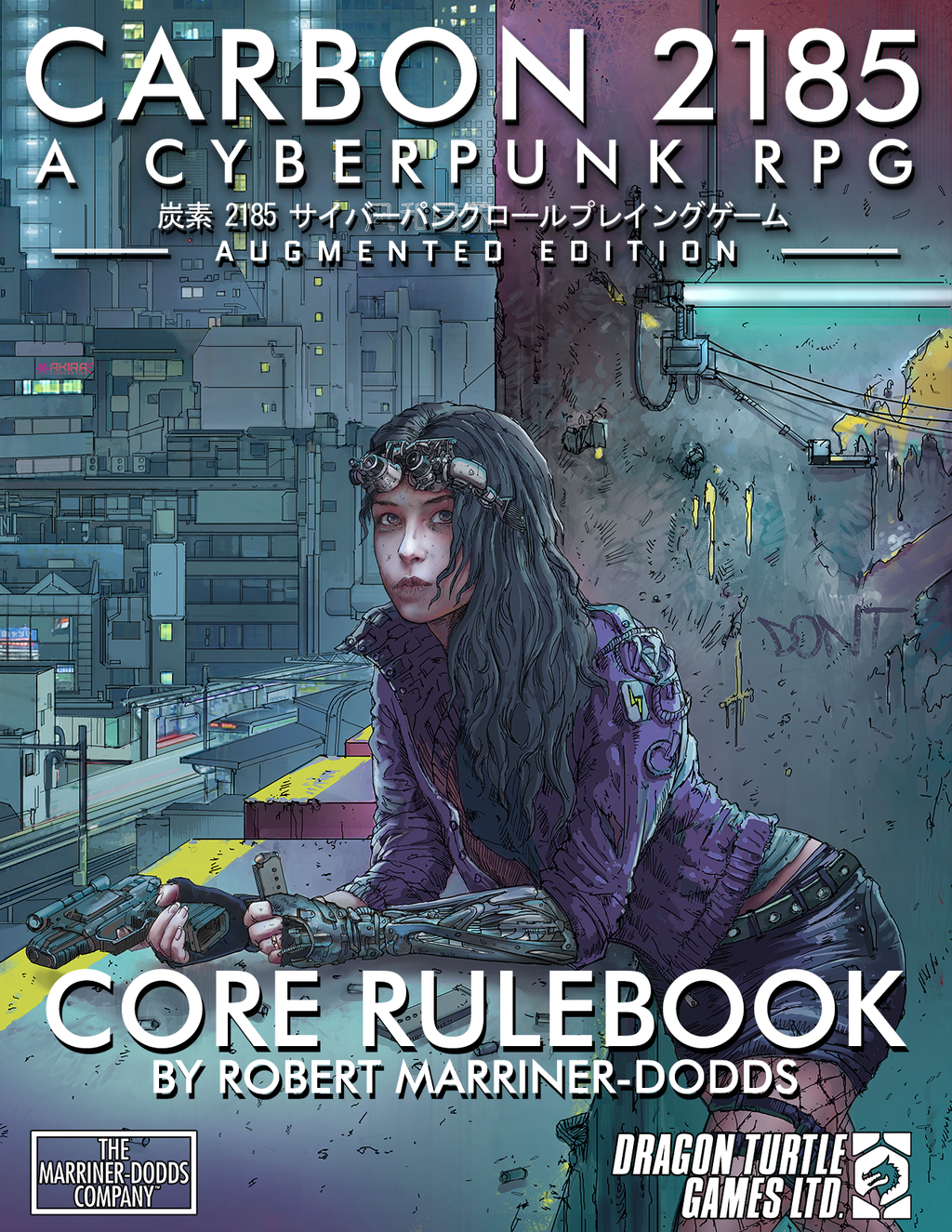 Carbon 2185 | A Cyberpunk RPG Core Rulebook PDF