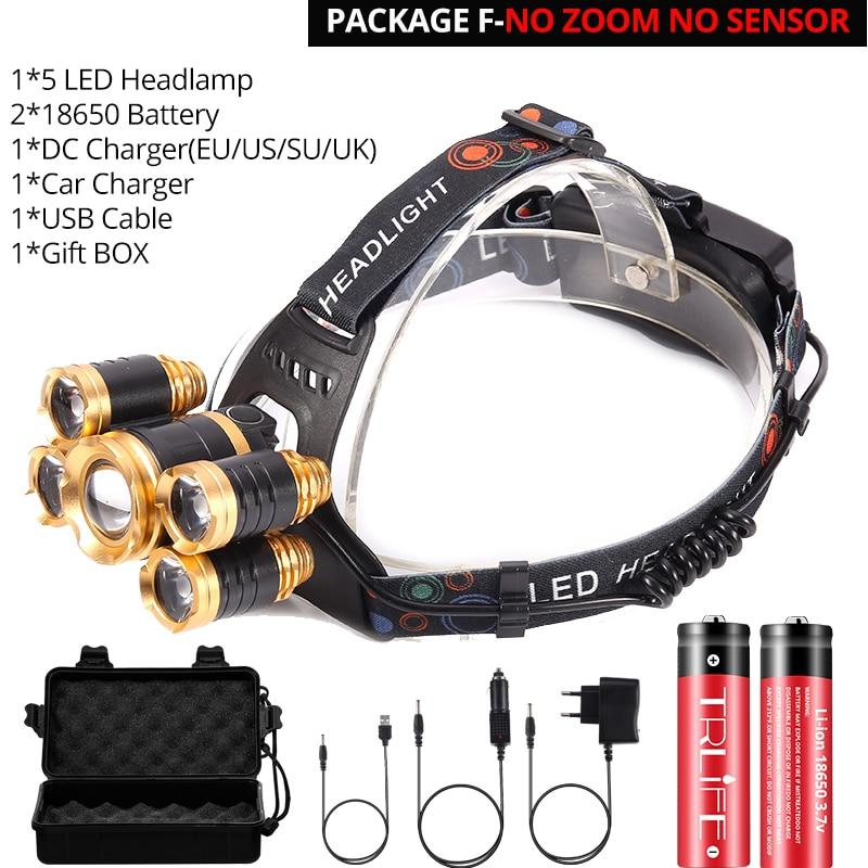 Hunting LED Rechargeable Headlamp Fishing Gear - ObeyKart