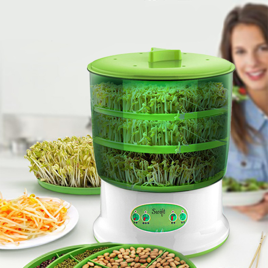 Automatic Sprout Machine with Seedling Tray