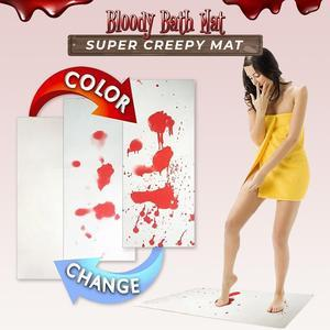 Halloween Prank Bloody Bath Mat