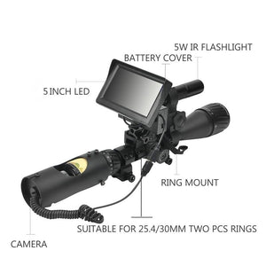 Night Vision Riflescop Waterproof Hunting Camera - ObeyKart