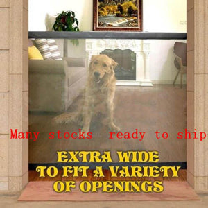Magic-Gate Dog Pet Fences Portable Folding Safe Guard Indoor and Outdoor - ObeyKart