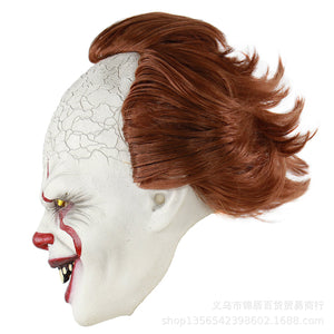Pennywise Costume Joker Mask - Halloween Mask