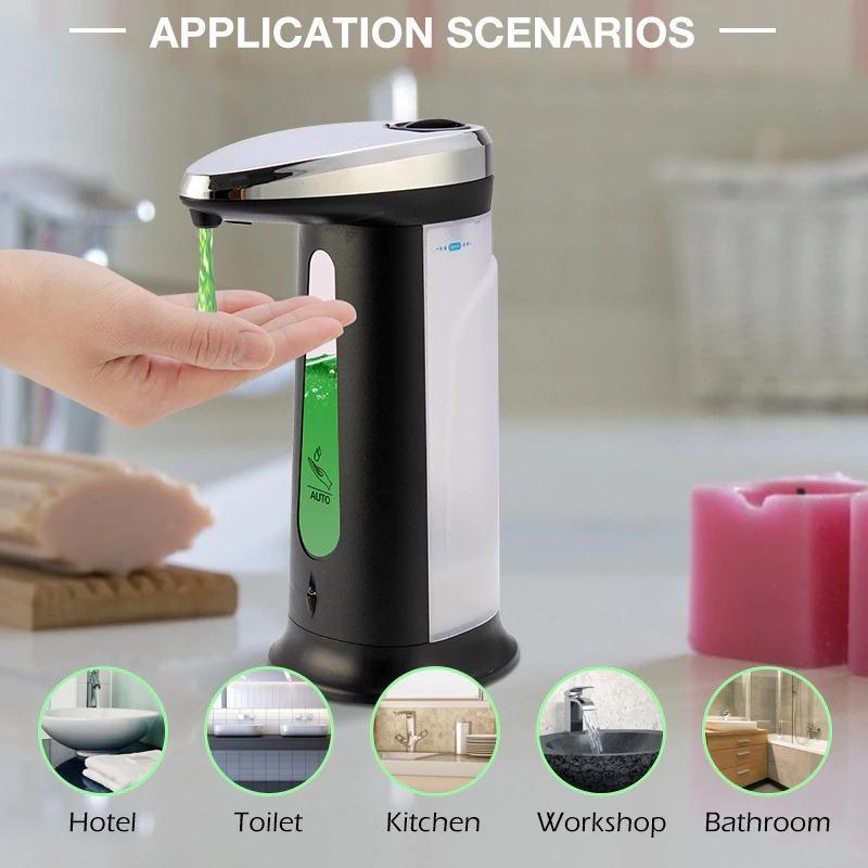 Smart-Sensor Electroplated Touchless Liquid-Soap-Dispenser - ObeyKart
