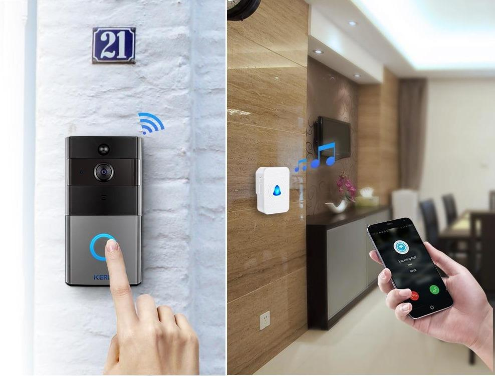 Wireless Video Intercom Doorbell  Home Security Night Vision Camera - ObeyKart