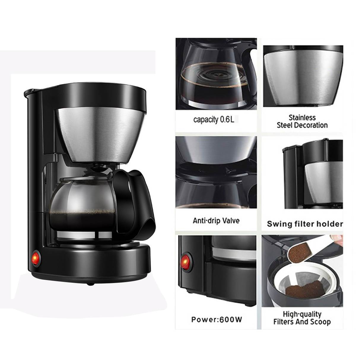 Automatic Electric Coffee Maker - ObeyKart