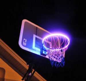 Solar Automatic LED Basket Ball Glowing Rack - Deals Dayz