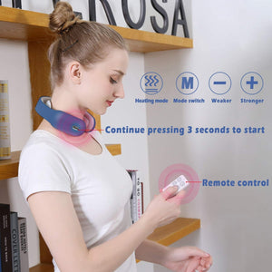 Smart Neck Massager - Instant Pain Relief Wireless Best Neck Massager