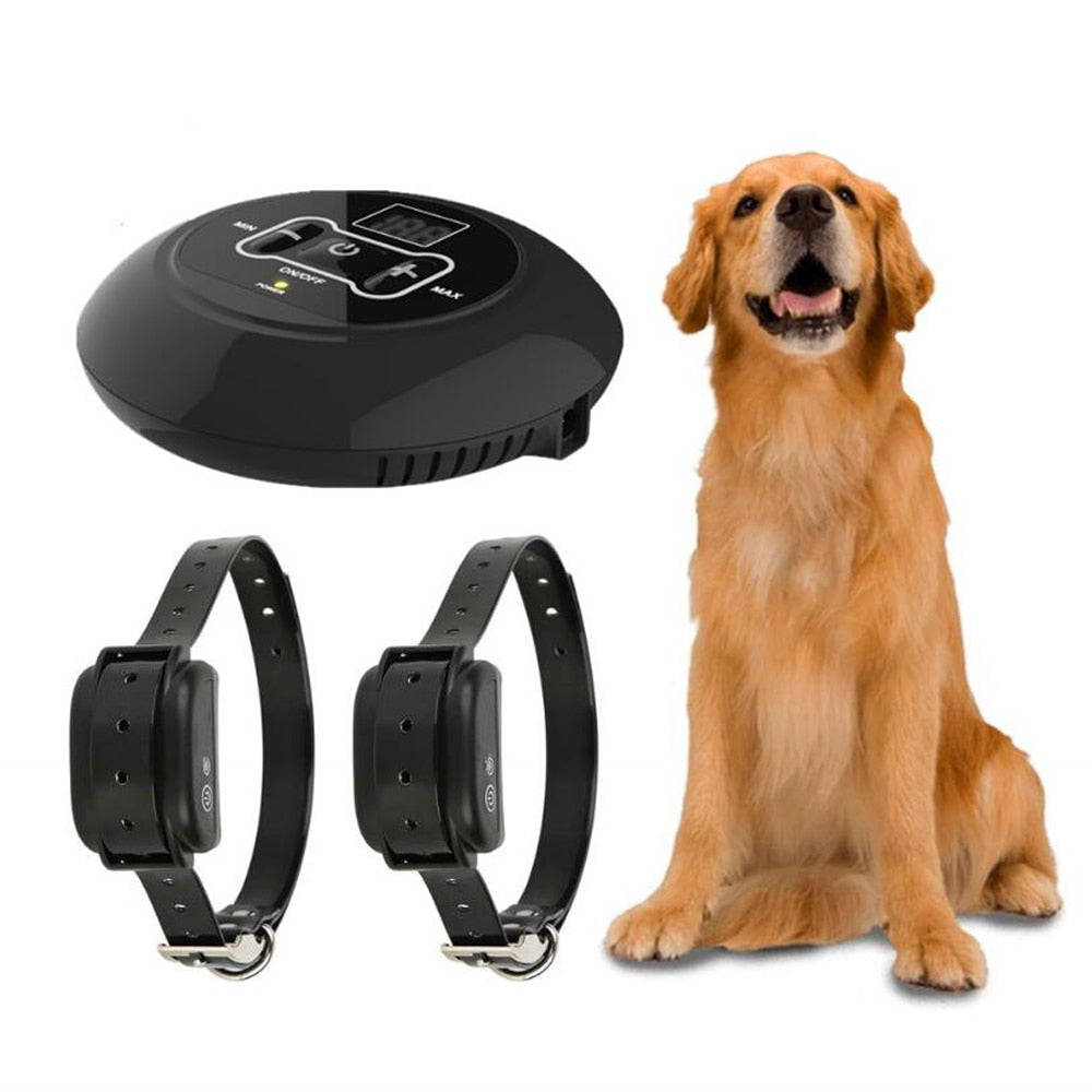 Pet Electric Fence Wireless Smart Waterproof Dog Training Collar