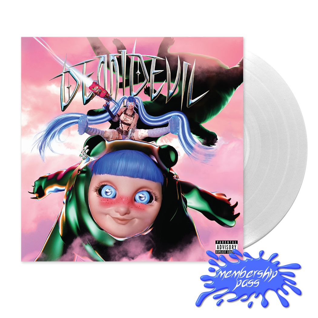 DEMIDEVIL EXCLUSIVE CLEAR VINYL + MEMBERSHIP PASS