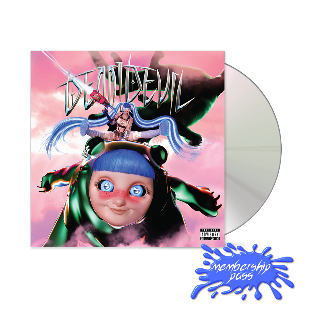 DEMIDEVIL CD + MEMBERSHIP PASS
